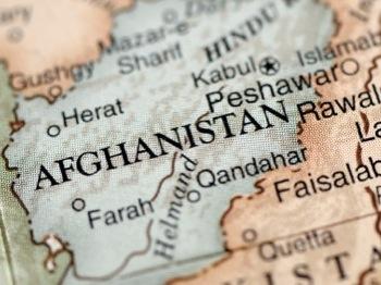 iStock Afghan map