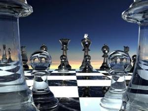 Glass chess 2