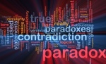 10012143-background-concept-wordcloud-illustration-of-paradox-contradiction-glowing-light