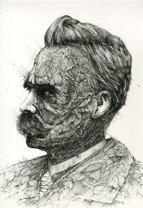Friedrich-Nietzsche-Drawing-Image